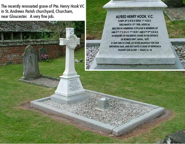 Renovation of Pte. Hook's grave