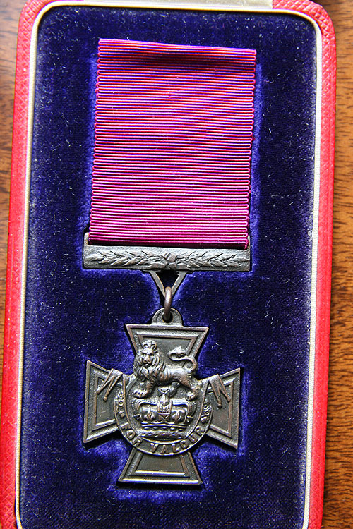 Front of medal