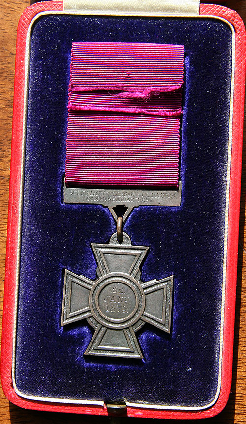 Rear of medal